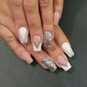 amazing glitter nail design