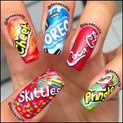 awesome nail arts love