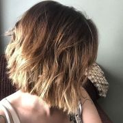 trendy messy bob hairstyles