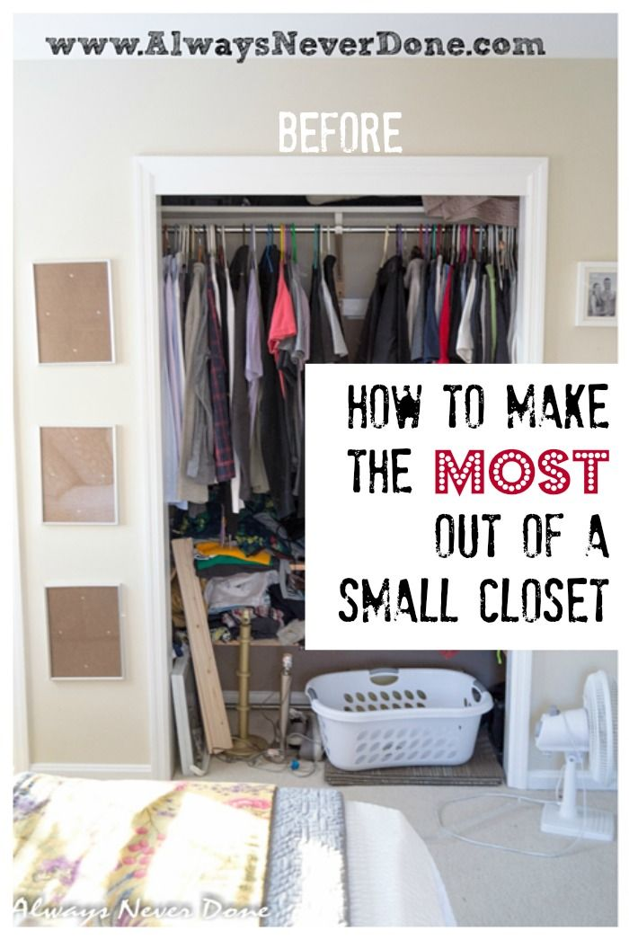 15 Easy and Clever Ideas to Arrange Your Closet - Pretty Designs