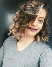 trendy messy bob hairstyles