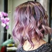 gorgeous pastel purple hairstyles