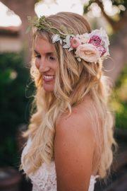 boho-chic wedding hairstyles