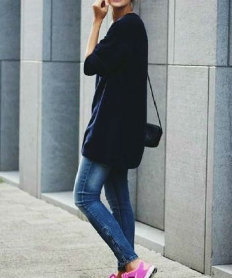 20 Super Casual Styles with Sneakers |Cool Look with Sneakers