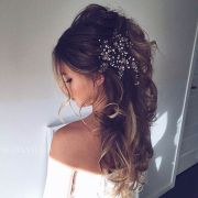 glamorous bridal hairstyles