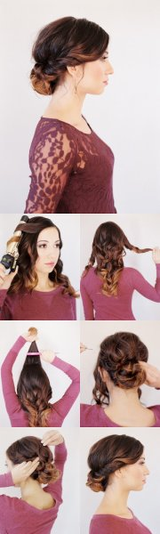stunning hairstyles with step-step
