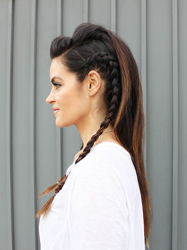 Image Result For How To Do A Faux Hawk With Long Hair