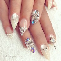 20 Stunning Wedding Nails Designs for 2017 - Wedding Nail ...