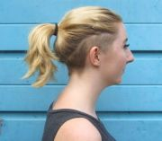 trendy-chic undercuts women
