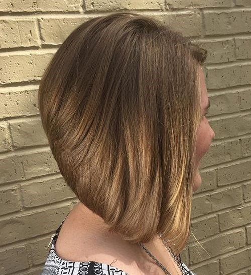 Blonde Bob with Center Part