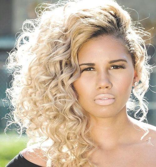 Golden and Sliver Curls