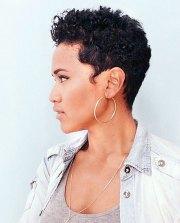 trendy african american pixie
