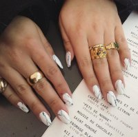 20 Magnificent Stone Nail Art Designs - Pretty Designs