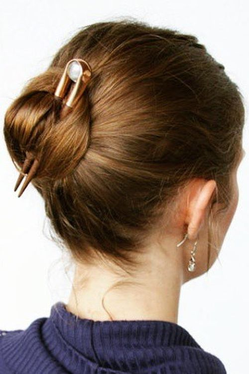 26 Amazing Bun Updo Ideas for Long  Medium Length Hair  Pretty Designs