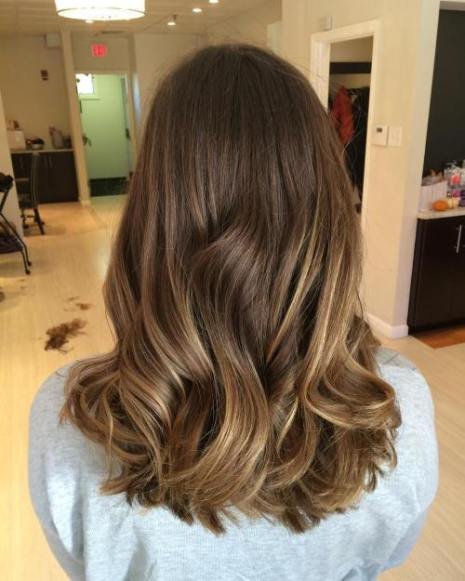 Brown and Golden Hair