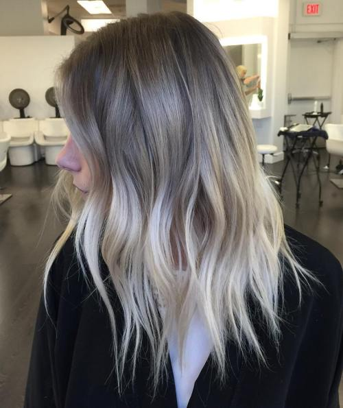 Grey and Sliver Hair
