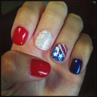 26 Patriotic Nail Art Designs To Try At Your Fourth Of ...