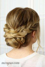 beautiful bridesmaid hairstyles