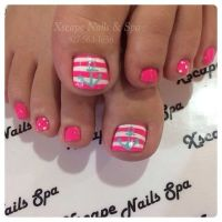 30 Really Cute Toe Nails for Summer - Pretty Designs