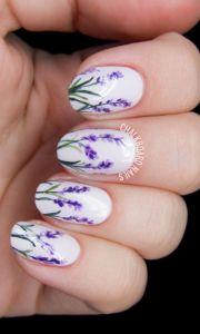 cute spring nail design 2018