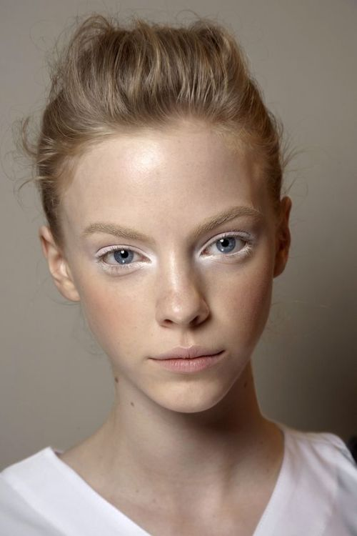 How to Pull Off White Makeup Accents