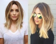 fashionable mid-length hairstyles