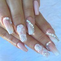 35 Glamorous Wedding Nail Art Ideas for 2019 - Best Bridal ...