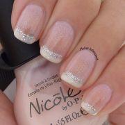 glamorous wedding nail art ideas