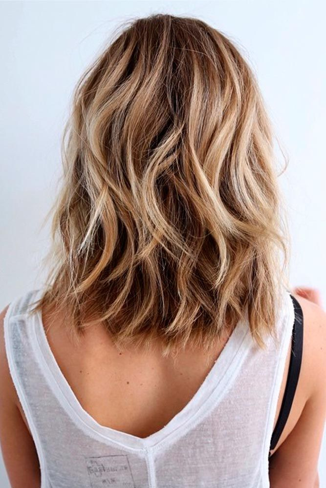 25 Fantastic Easy Medium Haircuts 2019  Shoulder Length
