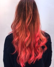 hair color trends 2019 red