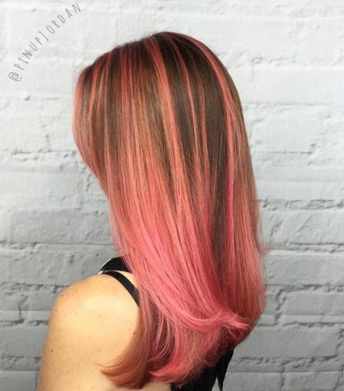Hair Color Trends For 2019 Red Ombre Hairstyles Pretty