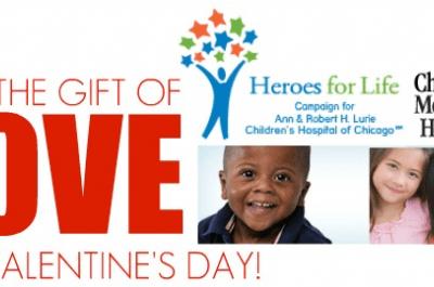 Giving The Gift Of Love For Valentine's Day  – Children's Memorial Hospital