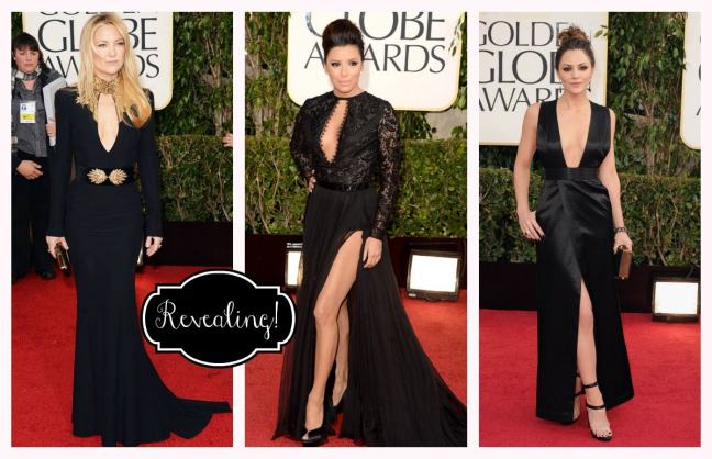 Golden Globes Revealing Kate Hudson, Eva Longoria, Katharine McPhee