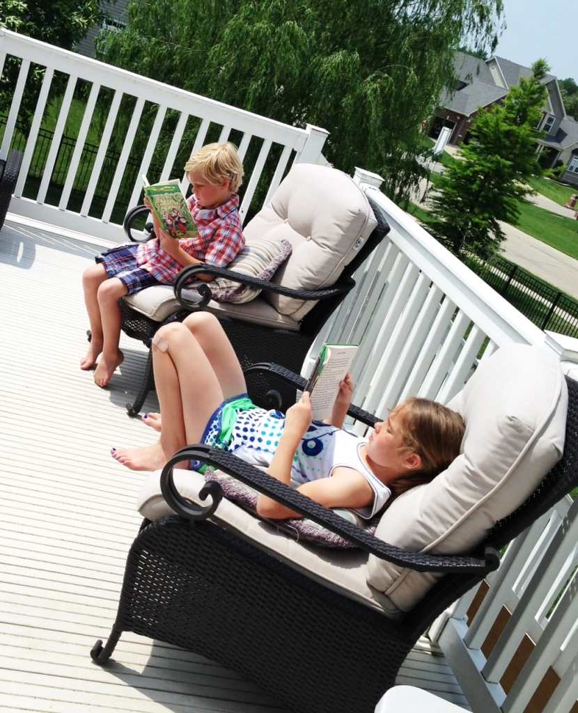 10 Tips for Family Weekend Fun this Summer - pick up a book