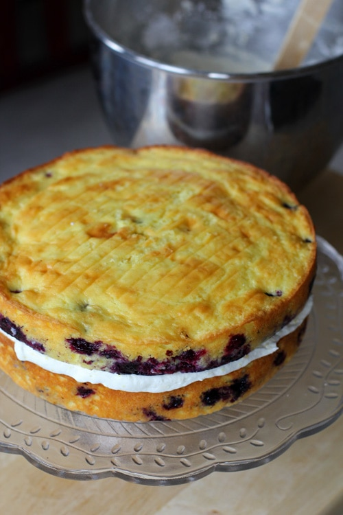 The Sweetest Easter Desserts - Lemon Blueberry Cake: Dare you to Resist!
