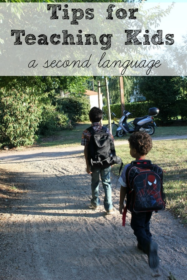 tips for teaching kids another language