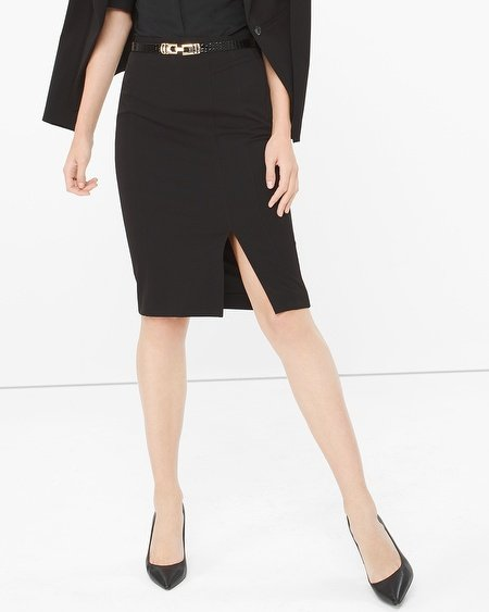 Fall Capsule Wardrobe - The Only 7 Pieces You Need - White House Black Market Seasonless Pencil Skirt