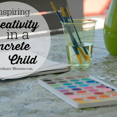 Inspiring Creativity in a Concrete Child