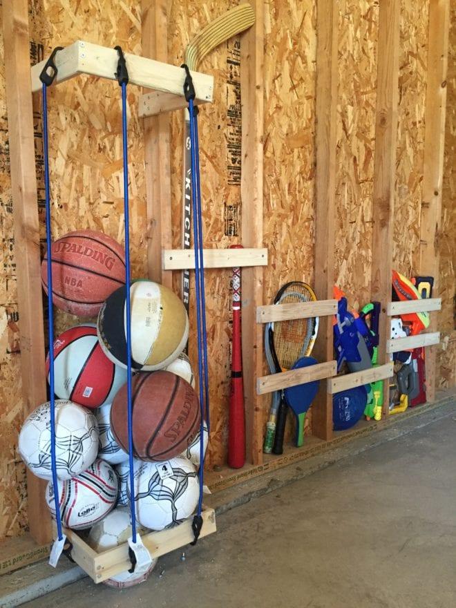 Bosch tools Easy DIY Garage Sports Storage