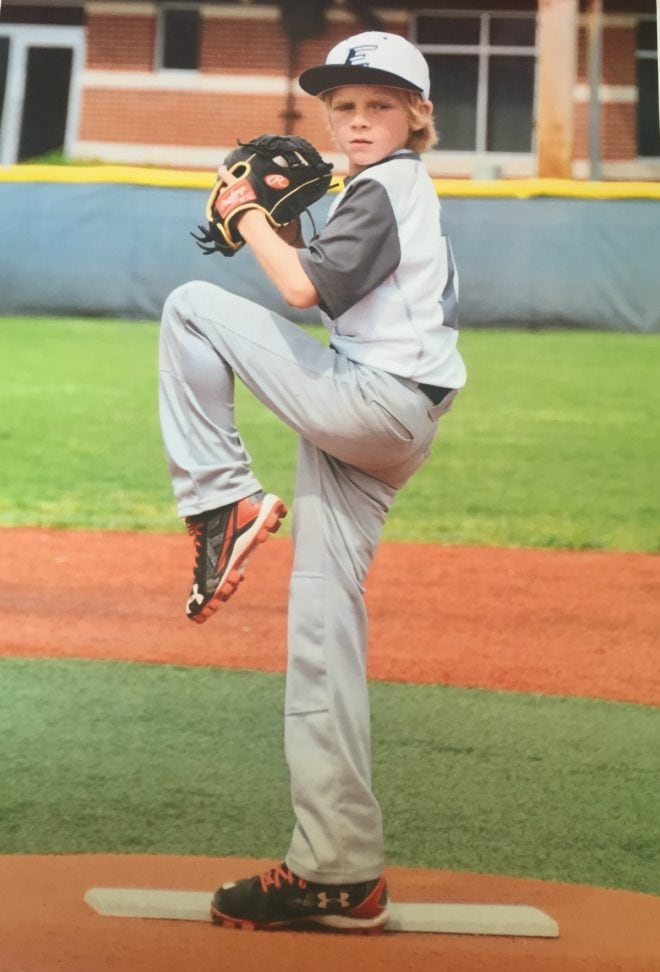 Cooper Baseball Pitching Perfect Form