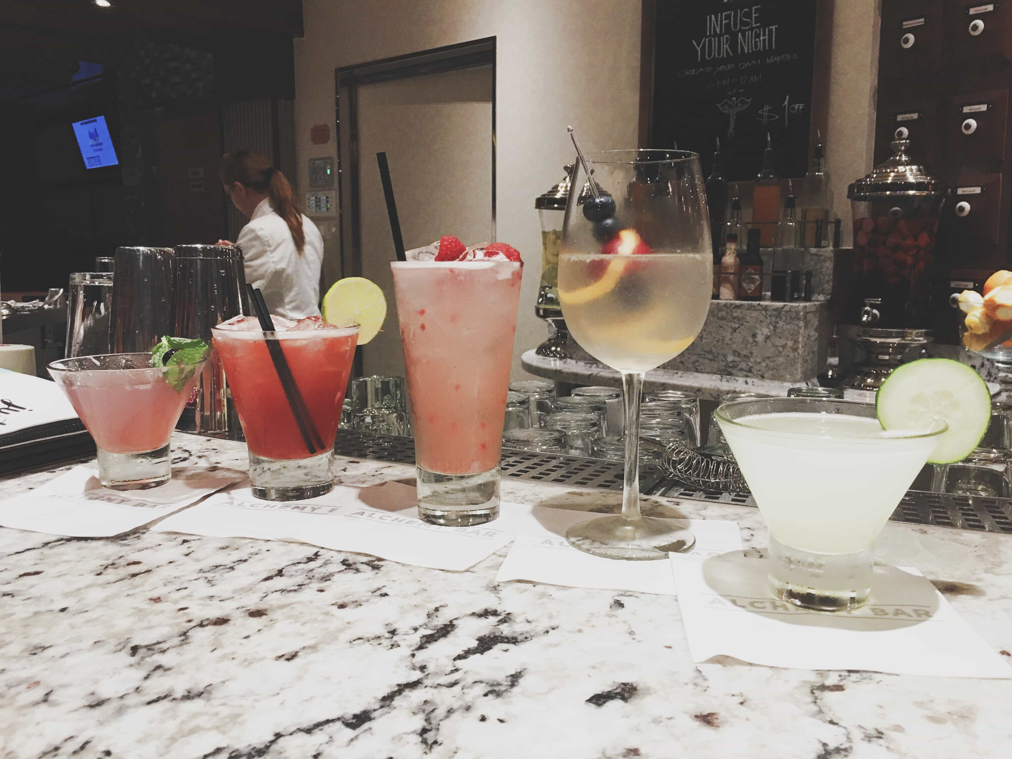 9 Reasons Cruising the Carnival Magic Good for Adults - Carnival Magic Alchemy Drinks