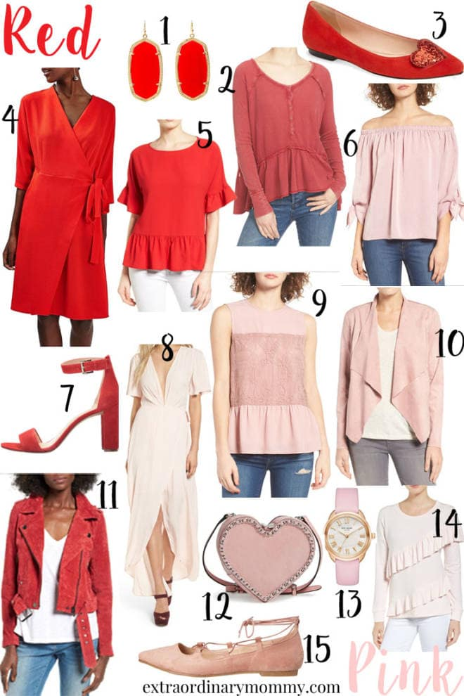 red and pink finds for valentine's day