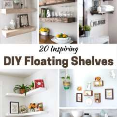 Diy Floating Shelves For My Living Room Built Ins No Fireplace 20 Inspiring Pretty Extraordinary The Rustic Options Are Favorites