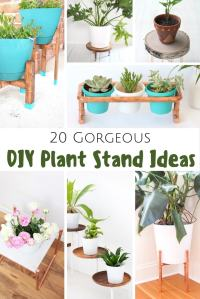 20 Gorgeous DIY Plant Stand Ideas - Pretty Extraordinary