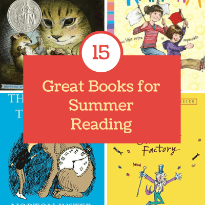 15 Great Books for Summer Reading