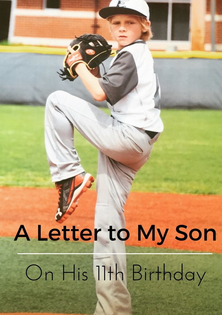 A Letter to My Son on His 11th Birthday