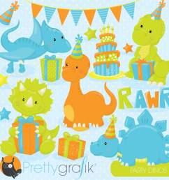 dinosaur party clipart [ 2000 x 2000 Pixel ]