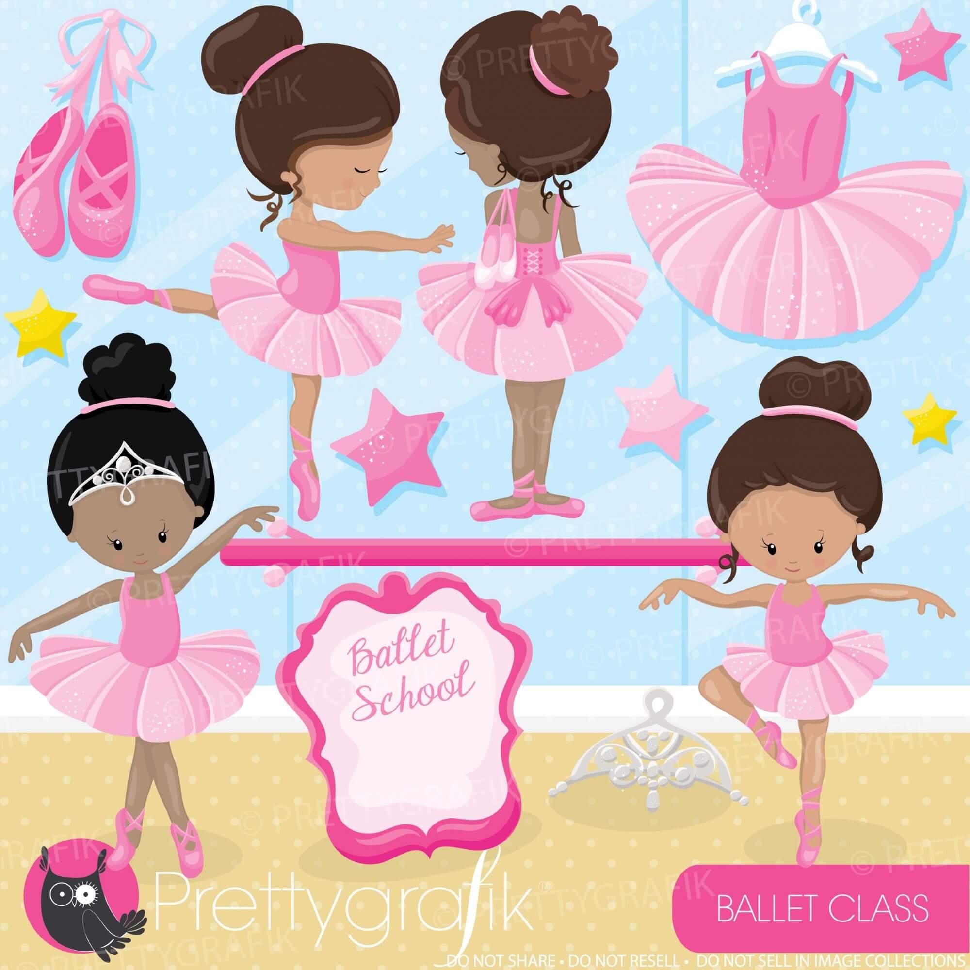 hight resolution of ballerina clipart