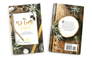 the 52 list project book cover