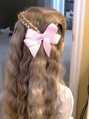 Cute Hairstyles With Big Bows Easy Casual Hairstyles For Long Hair
